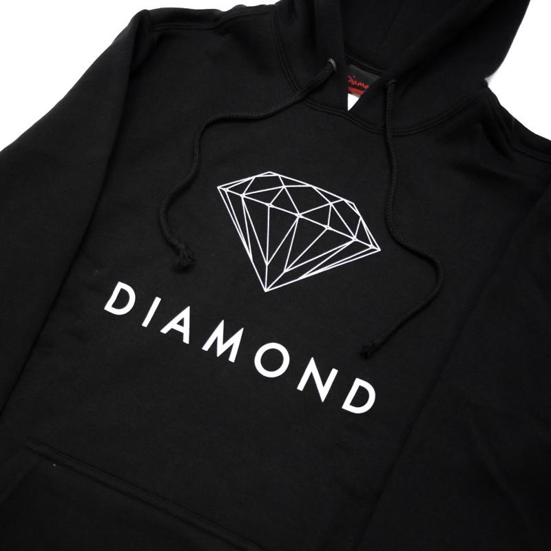 "MOLETOM DIAMOND ""FUTURA SIGN"" PRETO"