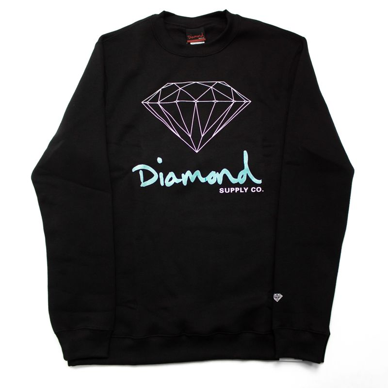 "Moletom Diamond Careca ""Og Sign"" Preto"