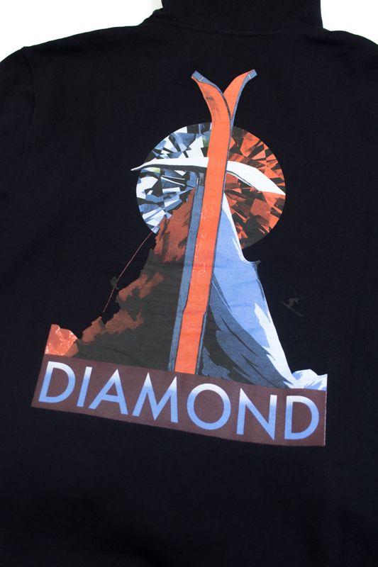 """MOLETOM DIAMOND """"PEAK"""" PRETO"""