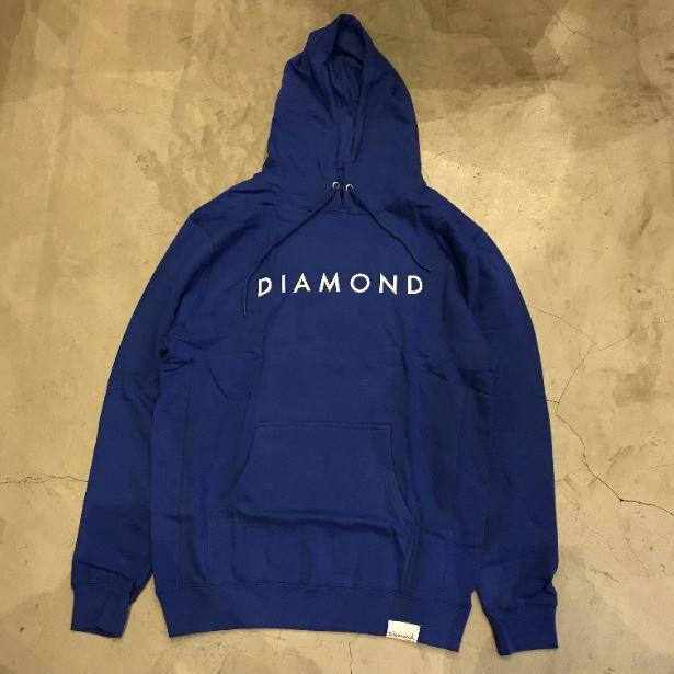 "Moletom Diamond ""Script"" Azul"