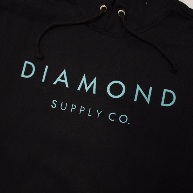 "Moletom Diamond ""Stone Cut"" Preto"