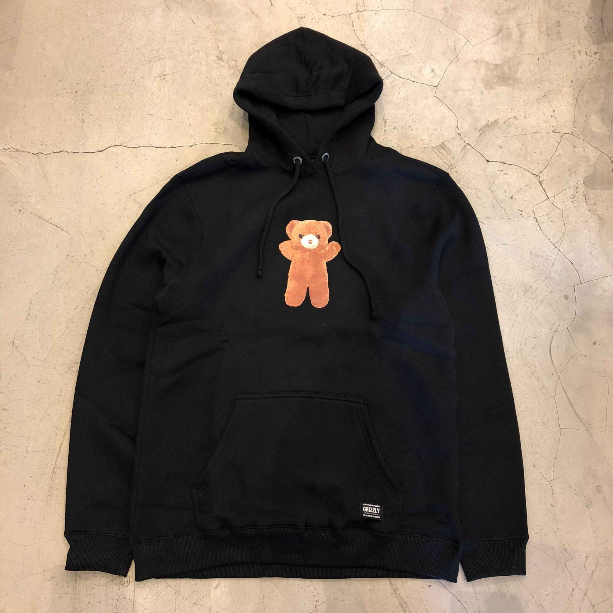 "Moletom Grizzly ""Childhood Pullover"" Preta"