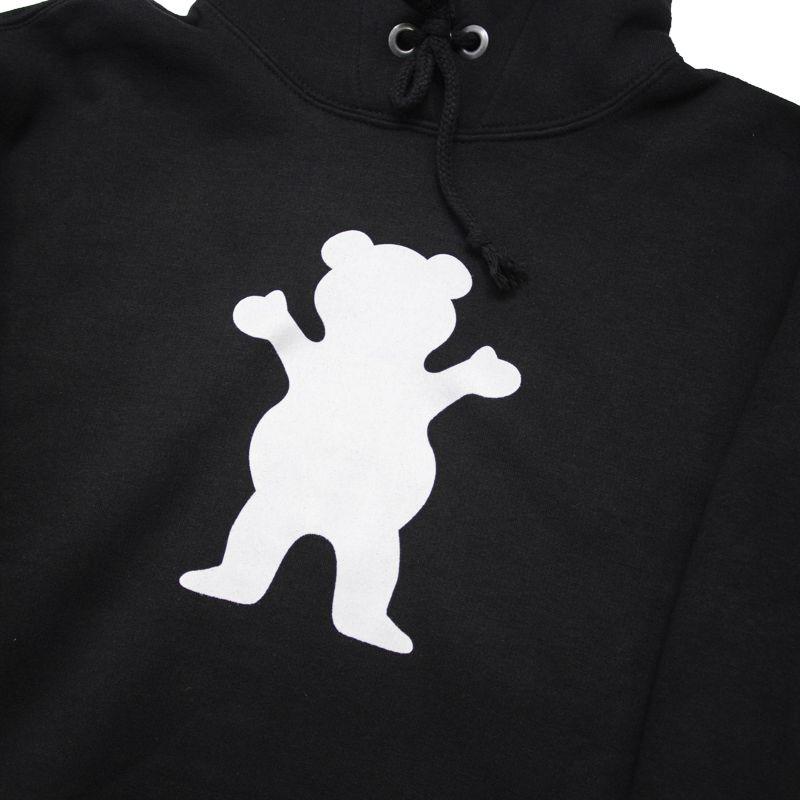 """Moletom Grizzly """"OG Bear"""" Preto"""