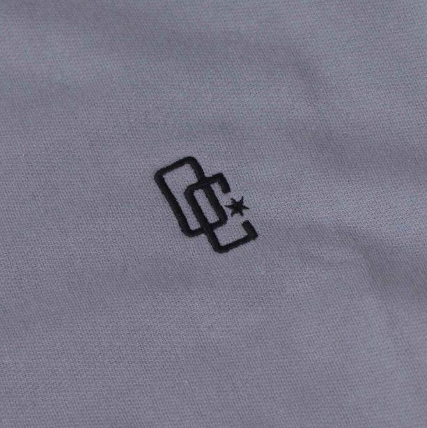 """Moletom Overcome Careca """"Logo"""" Cinza"""