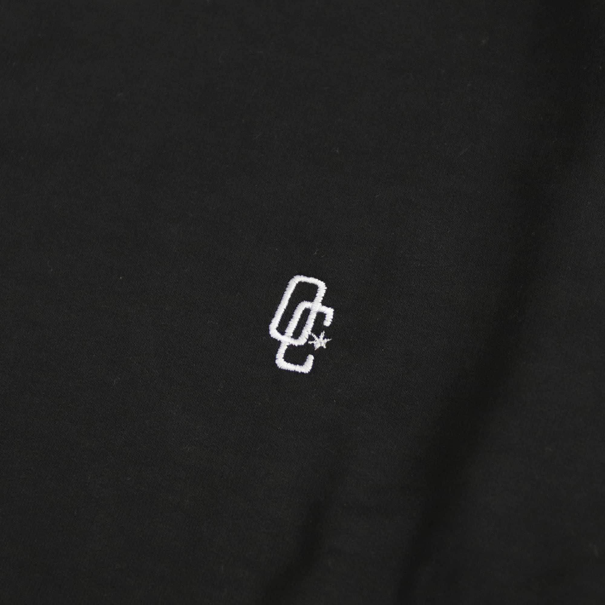 """Moletom Overcome Careca """"Logo"""" Preto"""