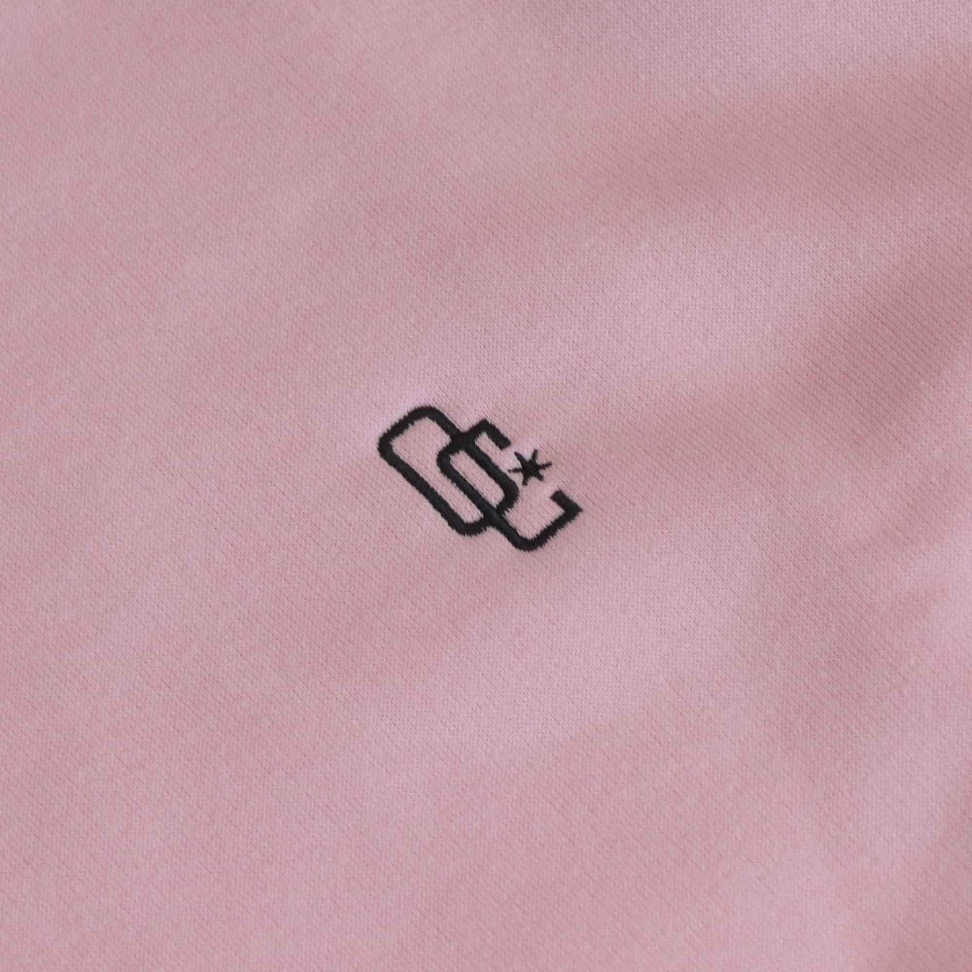 """Moletom Overcome Careca """"Logo"""" Rosa"""