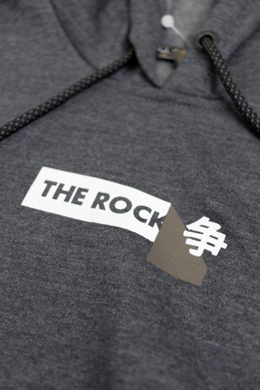 """MOLETOM THE ROCKS """"TR STOCKER"""" CINZA"""
