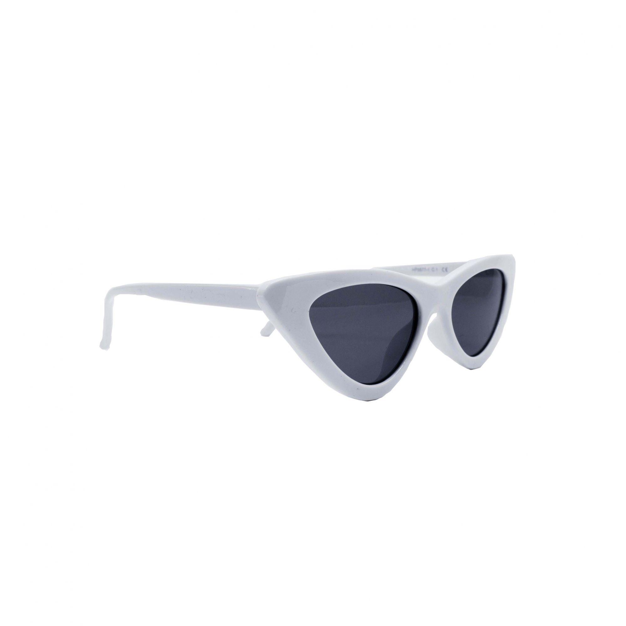 """Óculos Vintage """"VOGUE"""" Branco"""