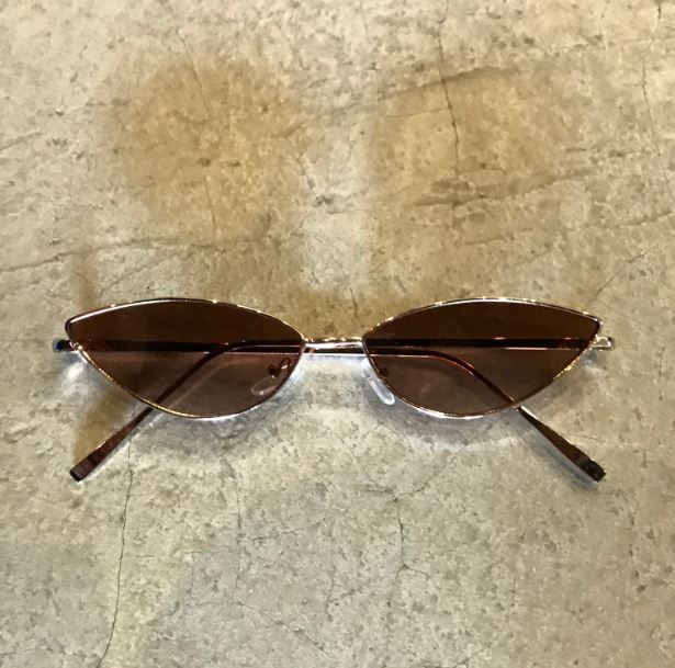 "Óculos Vintage ""Cat"" Rose/Marrom"
