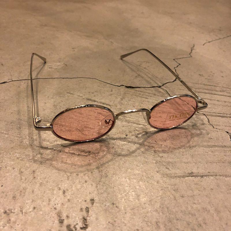 "Óculos Vintage ""JLennon"" Prata/Rosa"