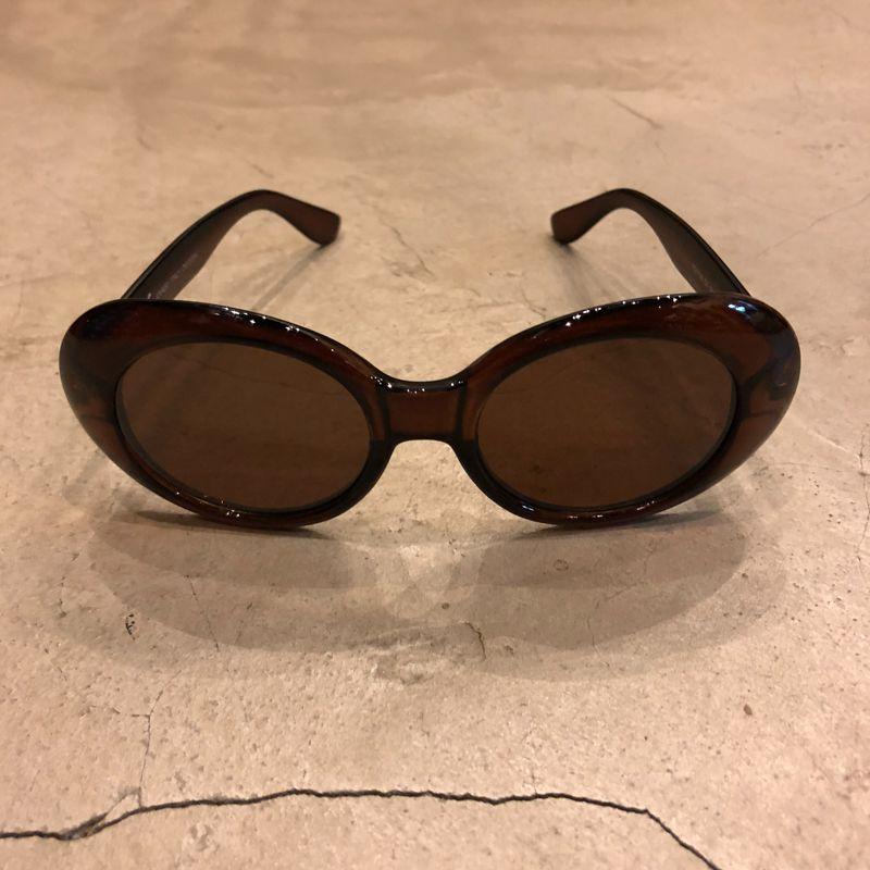 """Óculos Vintage """"KC"""" Marrom"""