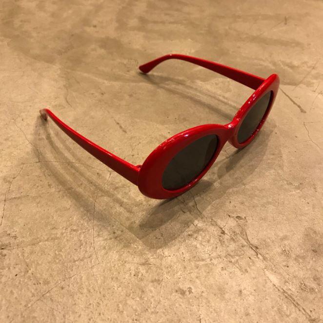 "Óculos Vintage ""KC"" Vermelho"