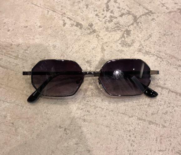 """Óculos Vintage """"Lord Have"""" Preto/Degradê"""