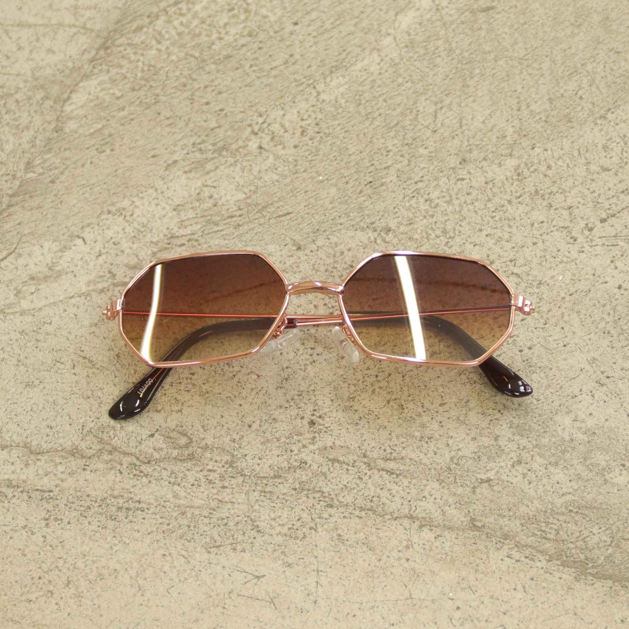 """Óculos Vintage """"Lord Have"""" Rosê/Degradê"""