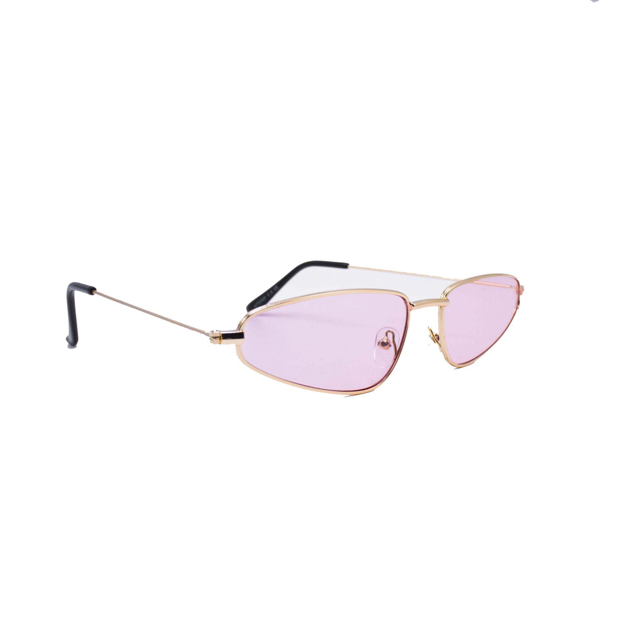 "Óculos Vintage ""Torugo"" Prata/Rosa"