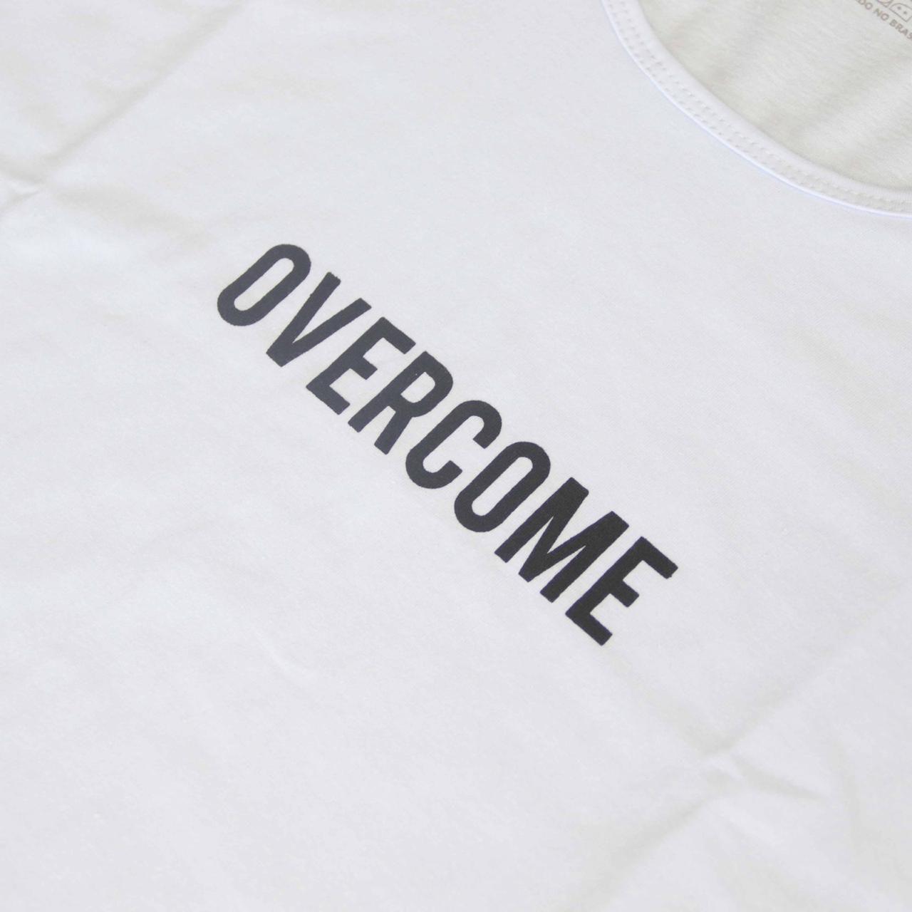 "Regata Overcome ""Logobox"" Branco"