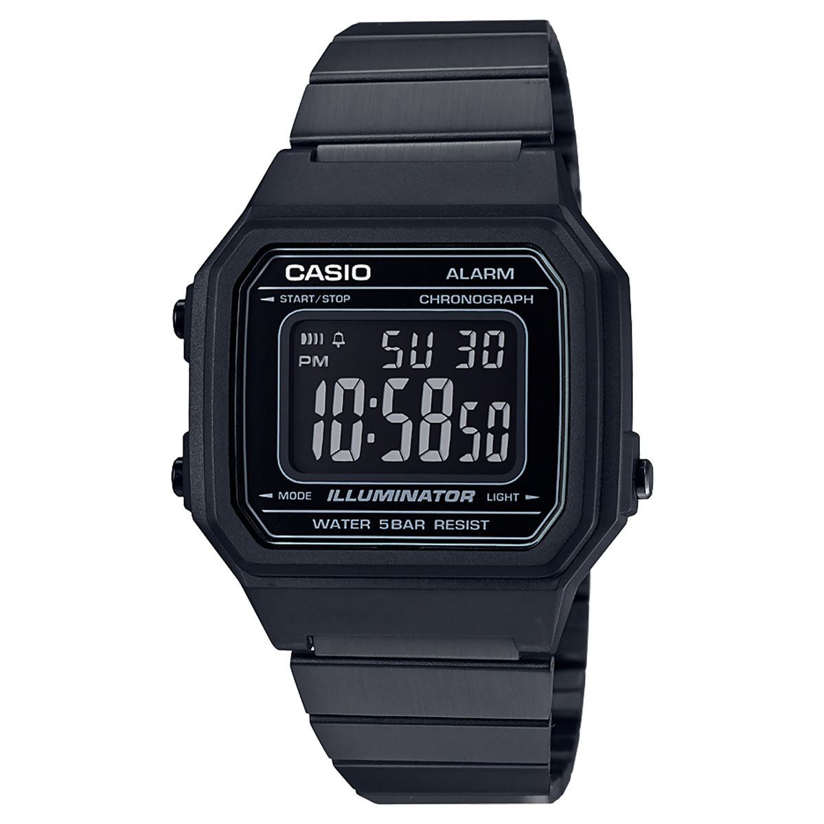 76c7cc490fd Relógio Casio B650WB-1B Black - Overcome Clothing
