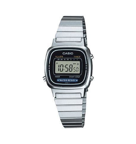 Relógio Casio LA670WA-1 BLACK