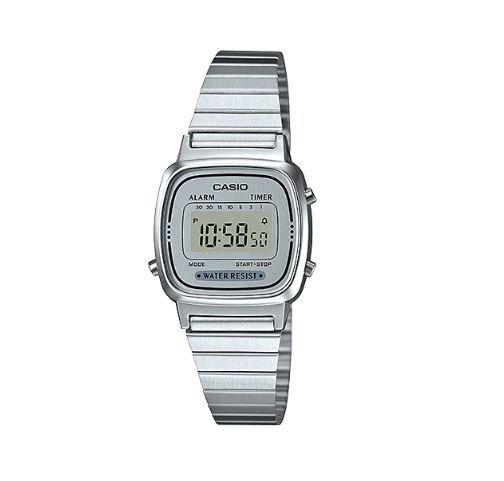 Relógio Casio LA670WA-7DF PRATA