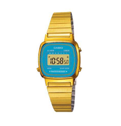Relógio Casio LA670WGA-2 BLUE