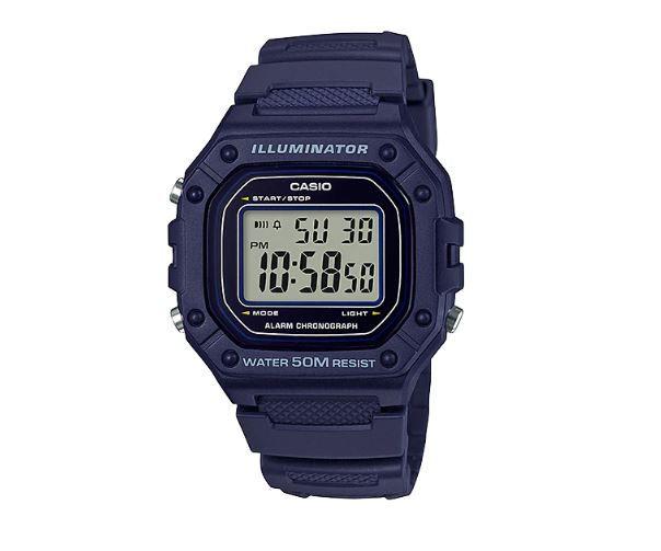 Relógio Casio W-218H-2AV AZUL