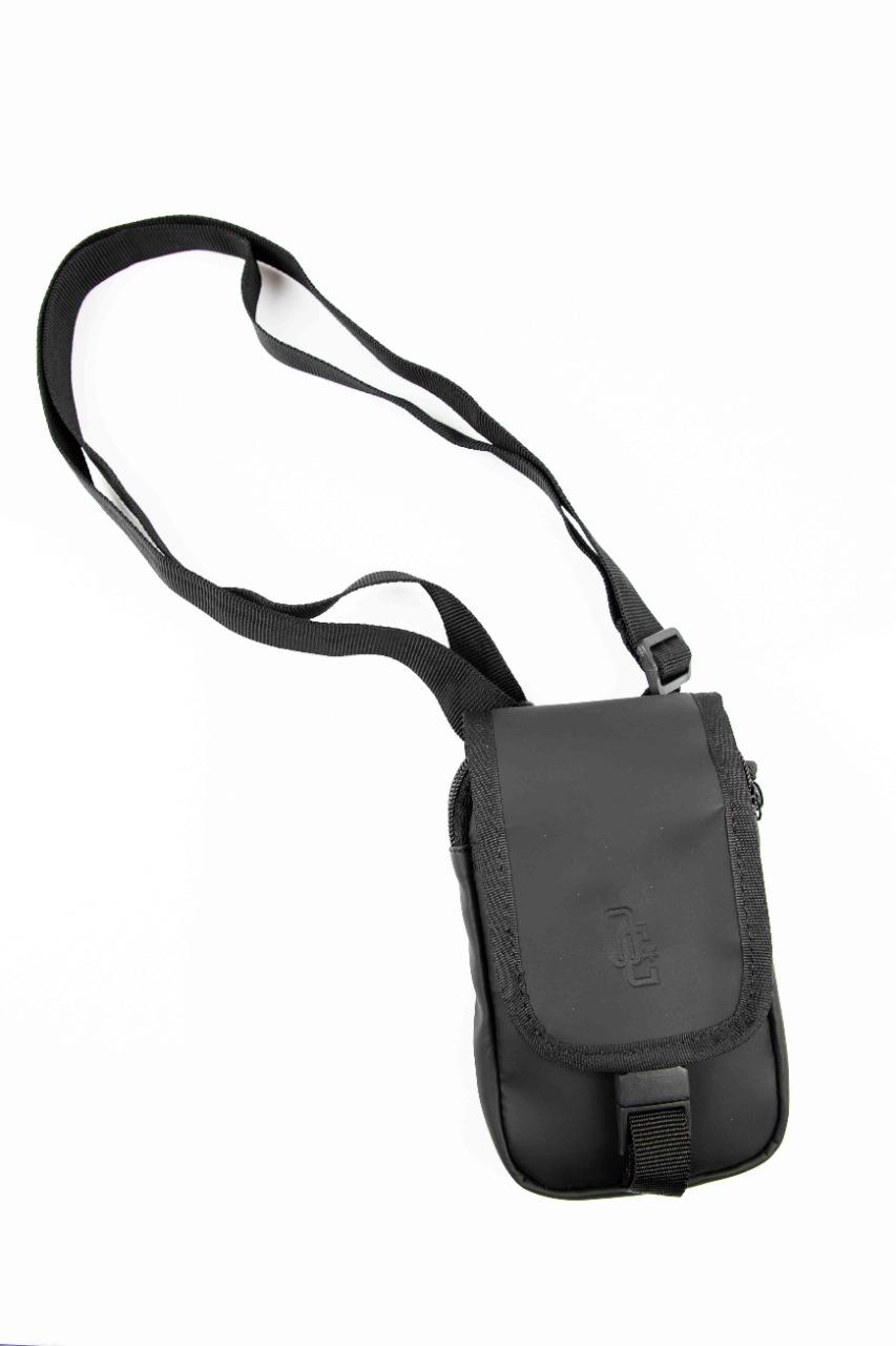 Shoulder Bag Overcome Rubber Preta