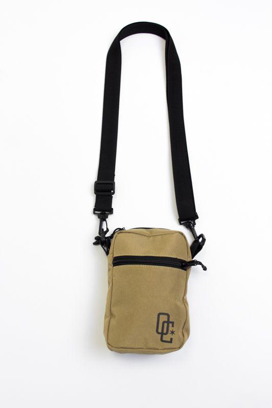 SHOULDER BAG OVERCOME CO BEGE