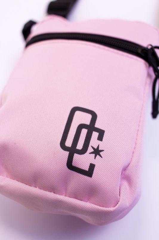 "Shoulder Bag Overcome ""Logo"" Rosa"