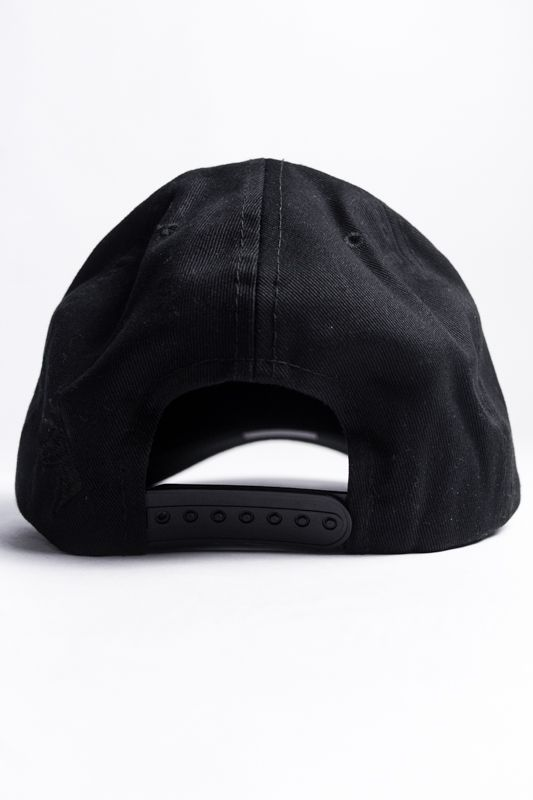 SNAPBACK THE ROCKS ABA CURVA PRETO