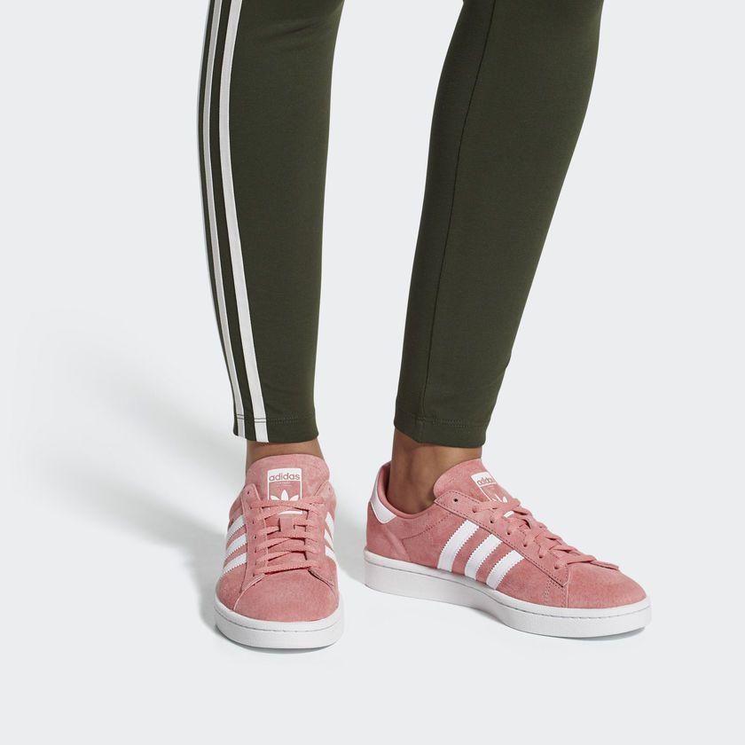 Tênis Adidas Campus W Rosa Overcome Clothing