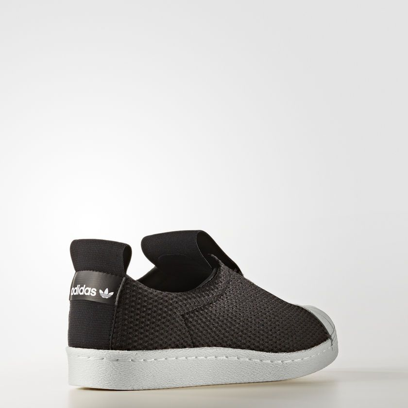 TÊNIS ADIDAS SUPERSTAR SLIP-ON PRETO