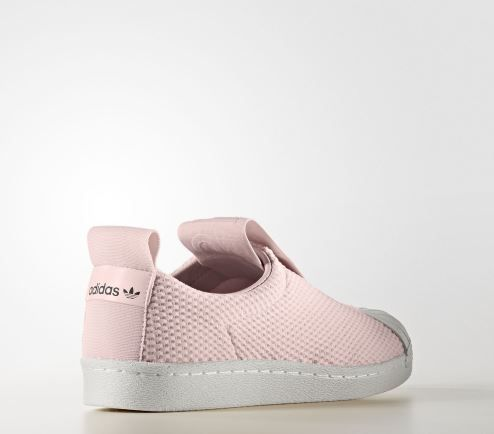 TÊNIS ADIDAS SUPERSTAR SLIP-ON ROSA - Overcome Clothing fdc85c0467719