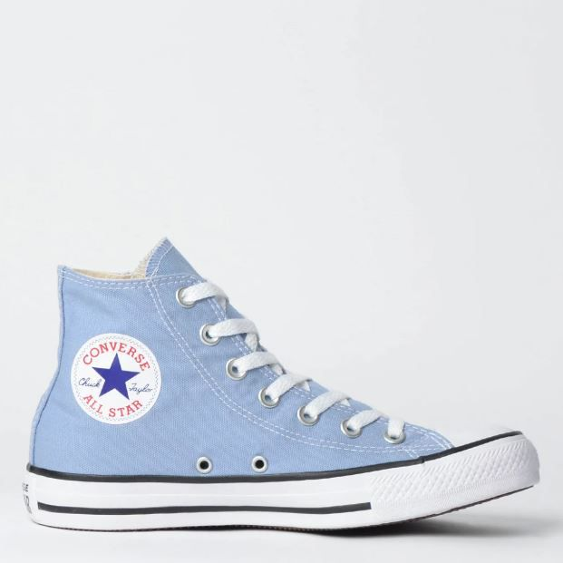 Tênis Converse Chuck Taylor All Star Azul Aço/Preto/Branco