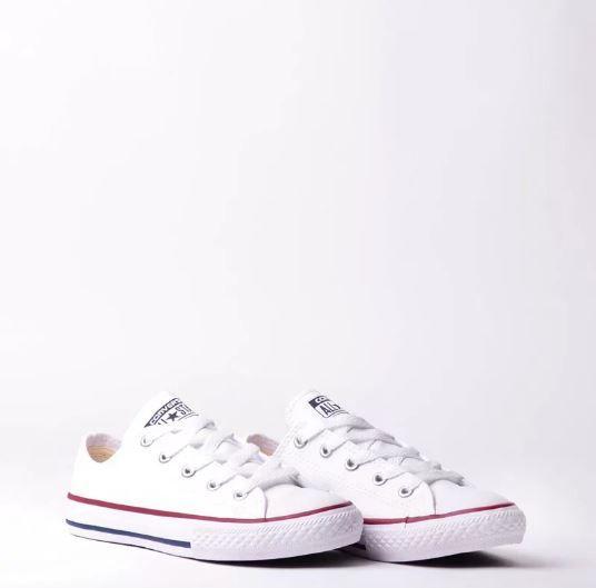 ef58e93566 ... Tênis Converse Chuck Taylor All Star Branco Vermelho - Overcome Clothing  4f9f394aba11aa ...