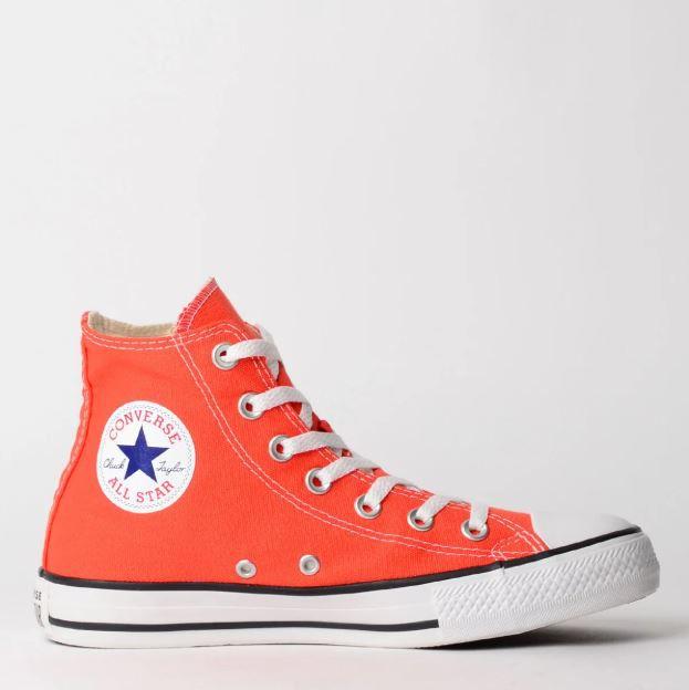 Tênis Converse Chuck Taylor All Star Fogo/Preto/Branco