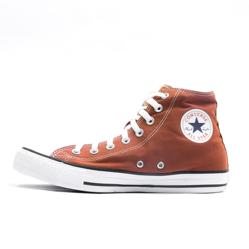 c5e81af398000a Tênis Converse Chuck Taylor All Star Pedra Vermelha Preto Branco - Overcome  Clothing