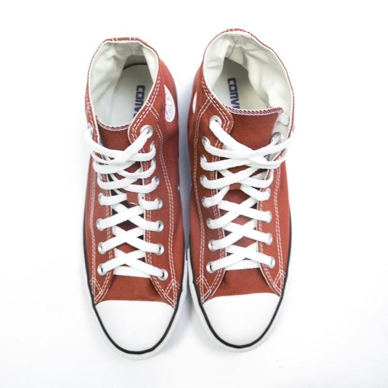 Tênis Converse Chuck Taylor All Star Pedra Vermelha/Preto/Branco