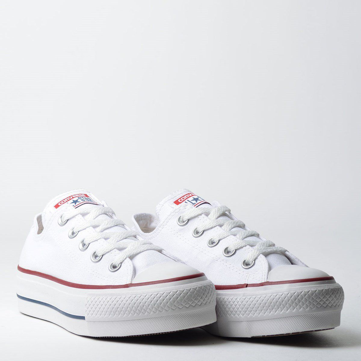 09945fa33b66a Tênis Converse Chuck Taylor All Star Platform Branco Marinho - Overcome  Clothing