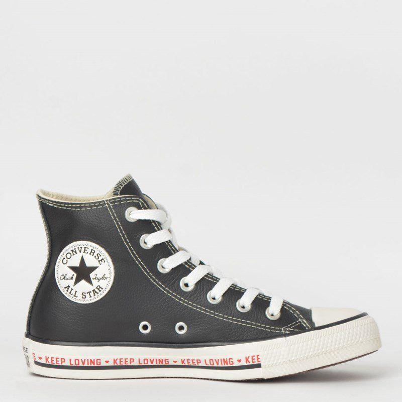 Tênis Converse Chuck Taylor All Star Preto/Amendoa/Preto
