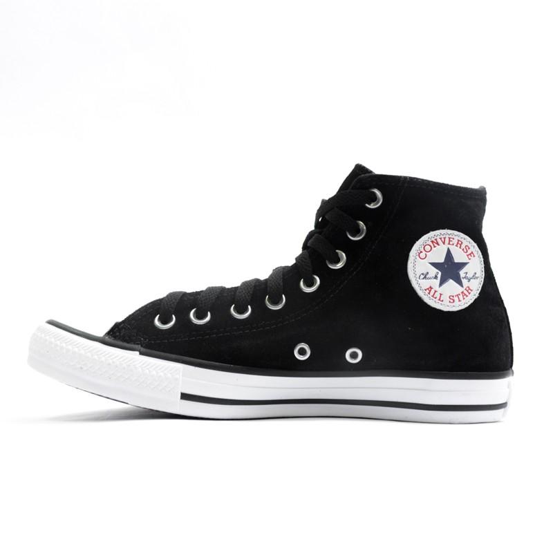 8b3c075b2c1e2 Tênis Converse Chuck Taylor All Star Preto Camurça - Overcome Clothing