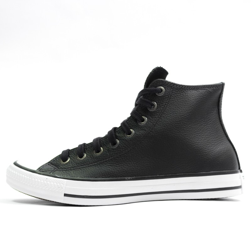 bed78263d9f Tênis Converse Chuck Taylor All Star Preto Couro - Overcome Clothing