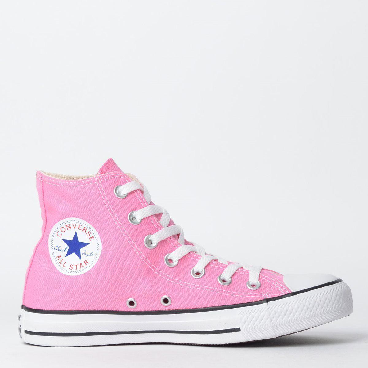 Tênis Converse Chuck Taylor All Star Rosa/Cru/Preto