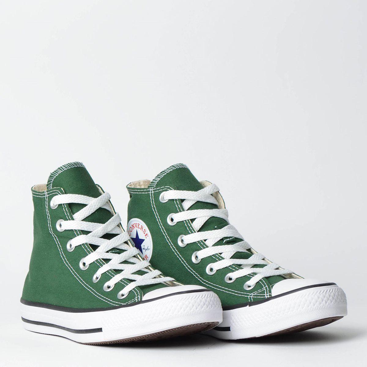Tênis Converse Chuck Taylor All Star Verde Floresta/Preto/Branco