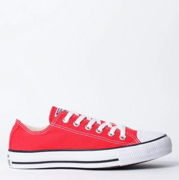 Tênis Converse Chuck Taylor All Star Vermelho/Cru/Preto*