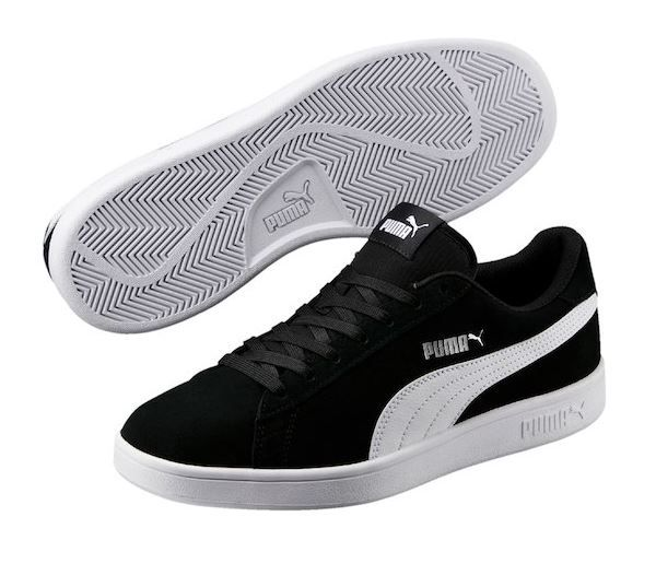 c128911e2 TÊNIS PUMA SMASH V2 PRETO E BRANCO - Overcome Clothing