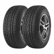 Kit 2 Pneus Continental Aro 16 245/70R16 ContiCrossContact LX2 111T