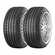 Kit 2 Pneus Continental Aro 18 235/50R18 CSC-5 Run Flat 97V