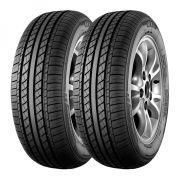 Kit 2 Pneus GT Radial Aro 13 155/65R13 Champiro VP1 73T Pneu original do Chery QQ