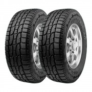 Kit 2 Pneus Ling Long Aro 15 205/70R15 Crosswind AT 96T