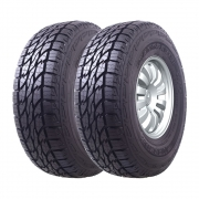 Kit 2 Pneus Mazzini Aro 17 265/65R17 Giantsaver AT 112T